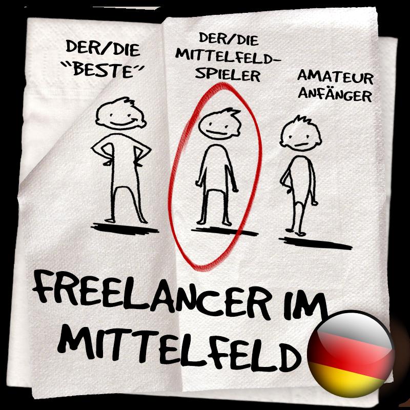 Serviette 07 – LassalMedia Business Lounge Training: Freelancer im Mittelfeld – damals & heute