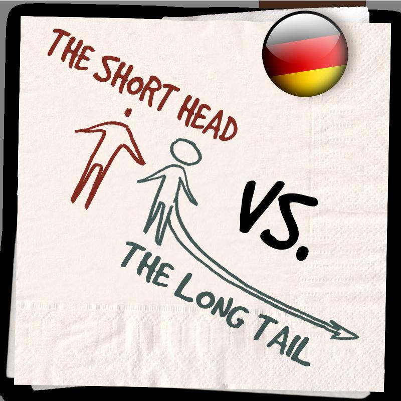 Serviette 08 – LassalMedia Business Lounge Training: Short Head – Long Tail Monster Things